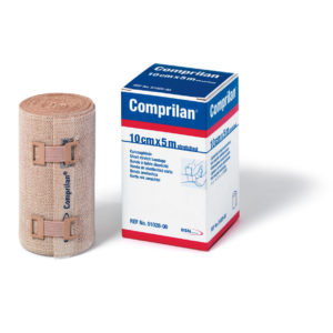"JOBST® Comprilan® Short Stretch Bandage 4""x5Yd/10Cm X 5M"