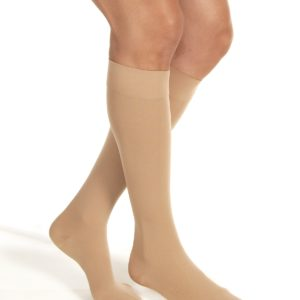 JOBST® Relief Knee 20-30 Closed Toe Silicone Beige Md