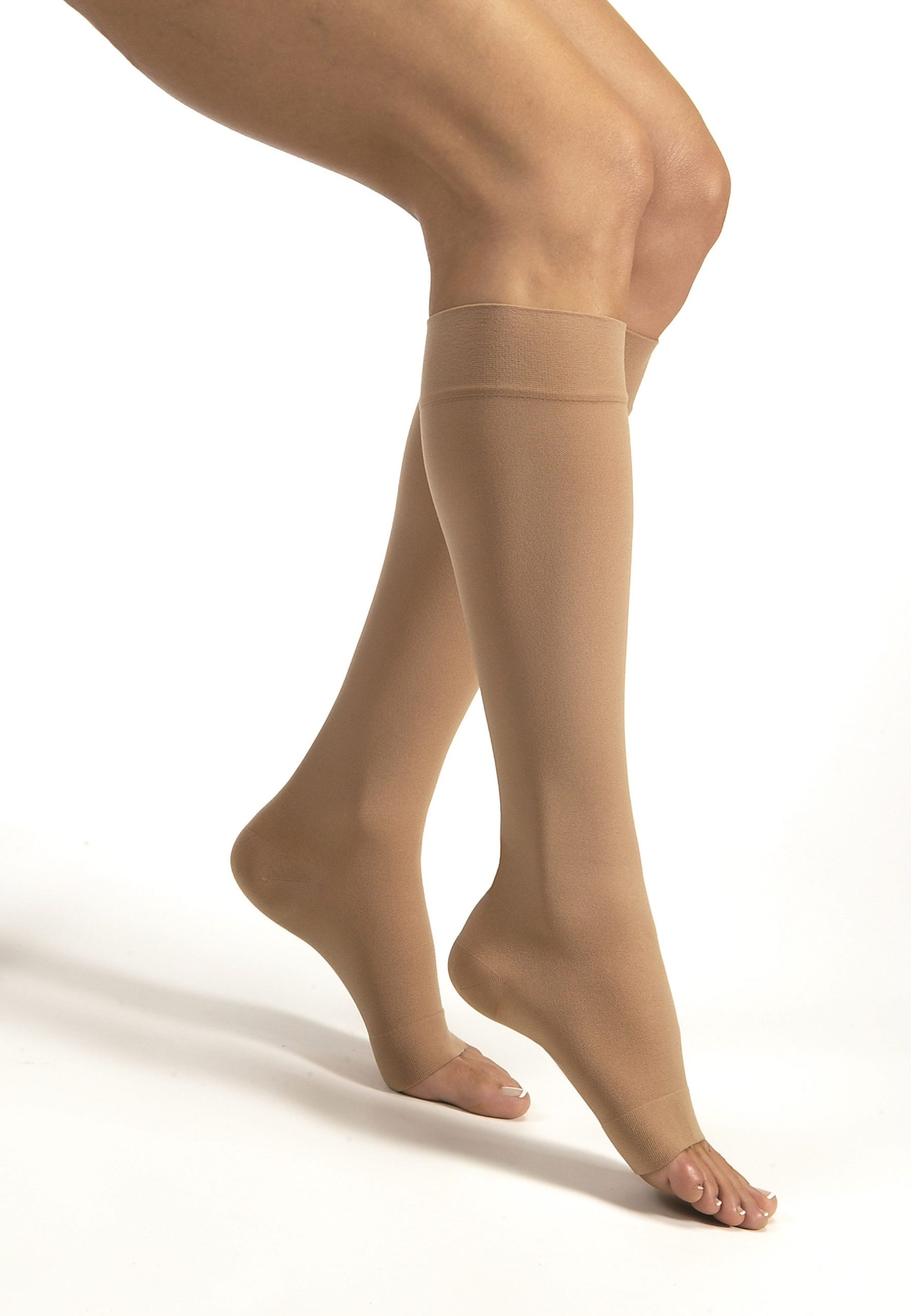 JOBST® Relief Knee 30-40 Open Toe Beige XLfc
