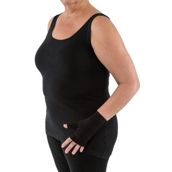 JOBST® Bella™ Strong Gauntlet 15-20 Black SZ 1