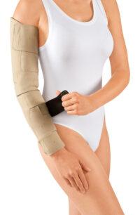 circaid juxtafit essentials arm donning