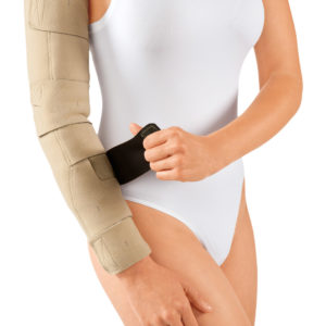 circaid juxtafit essentials arm donning