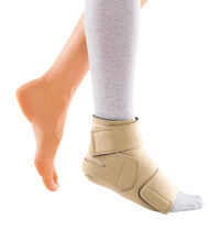 circaid juxtafit interlocking ankle foot wrap with undersock silver